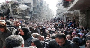 "Hunger Ravaged Starving Hordes Gather In Syria ""The Devastation is Unbelievable"""
