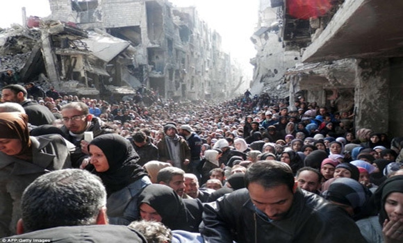 "Hunger Ravaged Starving Hordes Gather In Syria: ""The Devastation is Unbelievable"""