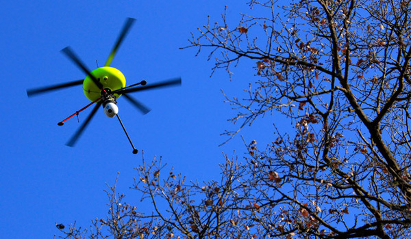 Journalism drones on the rise, already flustering police