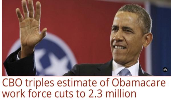 Obamacare as a Jobs Killer