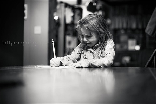 Photo Common Core Inflicts Anguish on 7-year-old Girl