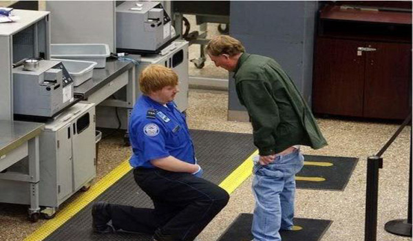 TSA Agents Protect America From Adult Diaper-Wearing Terrorist