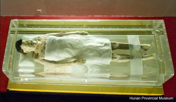 The enduring mystery of The Lady of Dai mummy