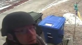 Thug Cops Rip Down Surveillance Cameras During SWAT-Style Raid…But They Didn't Get All of the Footage
