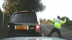 UK Cop Wins £430,000 After Attacking Pensioner's Car