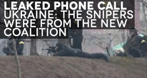 BREAKING Leaked Phone Call Reveals New Coalition Government Was Behind Sniper Shootings in Ukraine