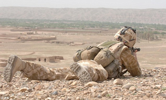 British Snipers Killed Afghans In Useless 'Turkey Shoot'