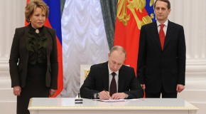 Crimea, Sevastopol officially join Russia as Putin signs final decree