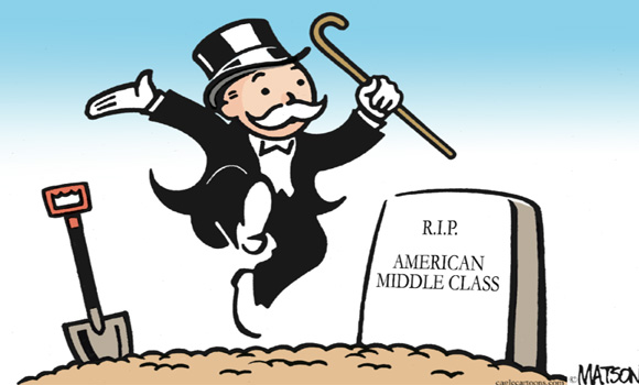 Dead Bankers, Common Core, and Destruction of the Middle Class