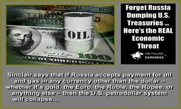 Forget Russia Dumping U.S. Treasuries … Here's the REAL Economic Threat
