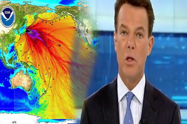 Fox News Anchor Admits Fukushima Radiation In North America