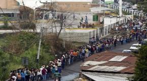 LOOK: The Fruits of Socialism – Venezuelan Food Lines