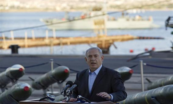 Netanyahu, showing seized rockets, says Iran fooling the world