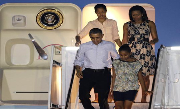 Obamas Set New Record for Vacation Travel Expenses Stonewalled Documents Finally Released