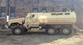 Police Department in Small City in OK Gets Armored Vehicle