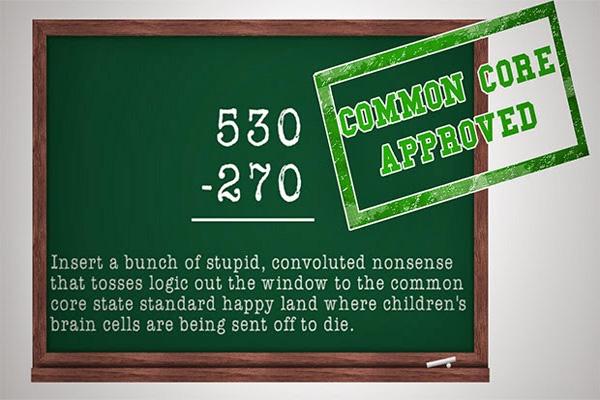 Proof Common Core Is Killing Common Sense