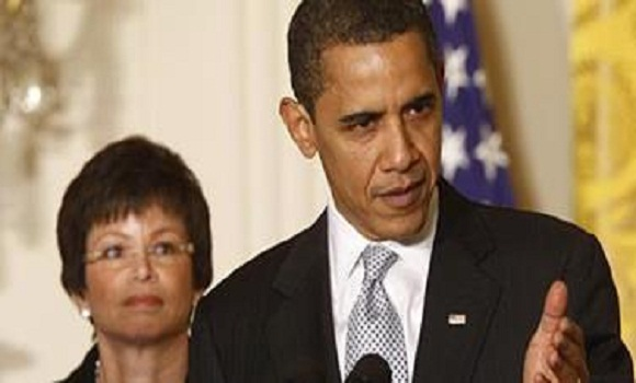 Propaganda Minister Valerie Jarrett goes to Hollywood to Get Obamacare in Movies, TV Scripts