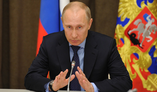 Putin signs order to recognize Crimea as a sovereign independent state