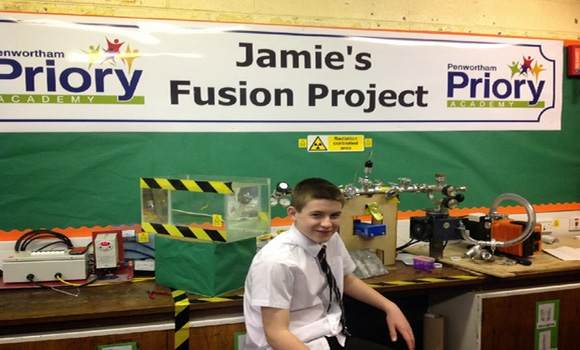 This 13-Year-Old Just Became the Youngest Person Ever to Build a Nuclear-Fusion Reactor