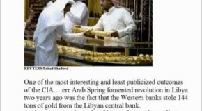 U.S. Bankers Are Stealing Saudi Gold and Anyone Eleses They Can Get Their Hands On