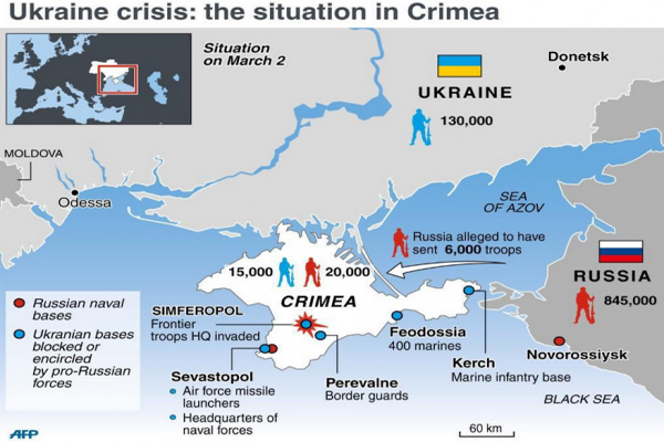 US Official Claims 6,000 Russian Troops In Complete Control Of Crimea – Crisis Map Update