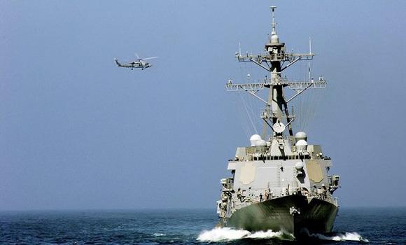US warship Truxtun begins naval exercise in Black Sea