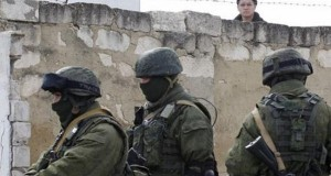 Unidentified gunmen seize military post in Crimea