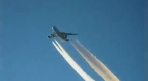 "Video: Two chemtrail ""ghost planes"" nearly collide with FEDEX flight"