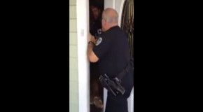 """You Answer to Me!"" Cop Breaks Into Home, Arrests Man"