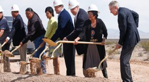 Flashback: Sen. Reid Breaks Ground for Nevada Solar Farm Near Bundy Ranch