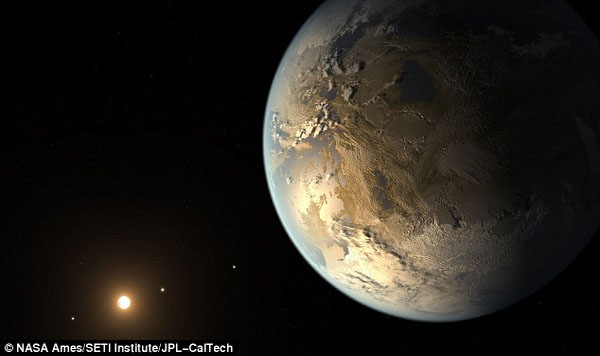 Have we finally found Earth 2.0 Astronomers discover first same-sized planet in habitable zone that could support alien life (or even us, one day)