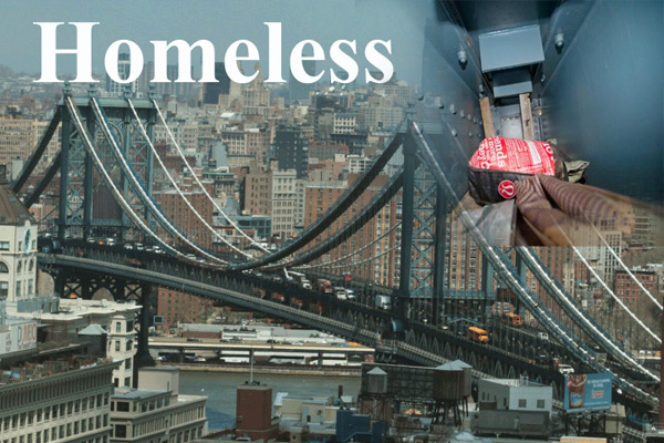 Homeless People Are Reportedly Living Inside The Manhattan Bridge
