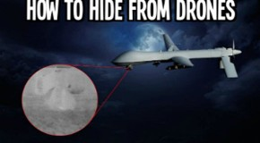 Pics and Info: How to Hide from Drones