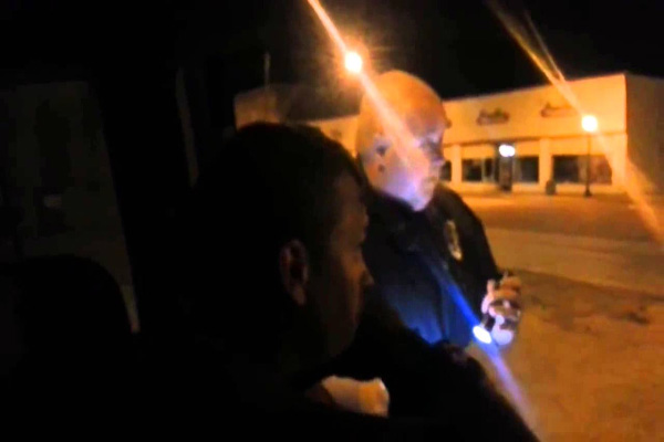 Police Officer Verbally Explodes When Confronting Person Who Knows The Law