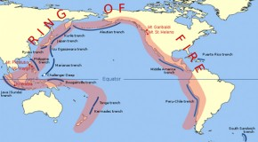 Scientists Assure Us That The Recent Earthquakes On The Ring Of Fire Are Not Related