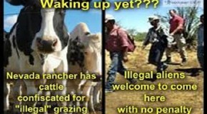 Sheriff Mack, CSPOA, Oathkeepers, State Legislators & America Stands with Cliven Bundy