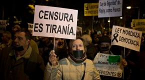Spain restricting people's right to protest, Amnesty report finds