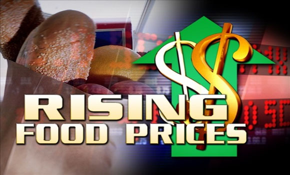 The 10 Fastest Rising Food Prices