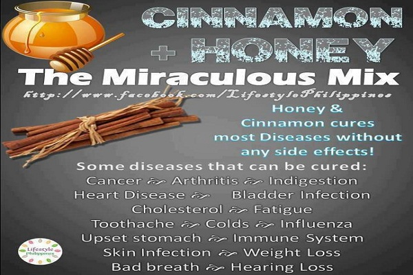 Today's Science Has Found That Mixing Honey and Cinnamon Cures Most Diseases