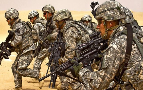 US to pile up troops on Russia doorstep Report