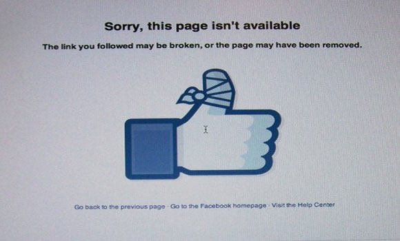 Update Facebook 'Everytown' pro-gun page taken down