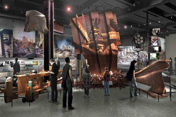 9 11 Museum run by Holocaust industry