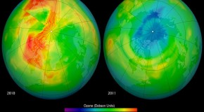 Arctic Ozone Hole & Polar Melt Triggered By The Fukushima Catastrophe