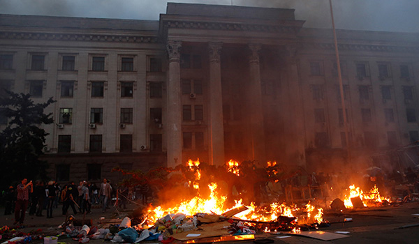 Avoiding facts MSM uncertain who is behind deadly Odessa blaze