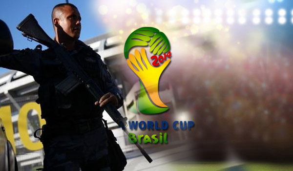 Brazil Deploys 30,000 Troops to Secure Borders Ahead of World Cup