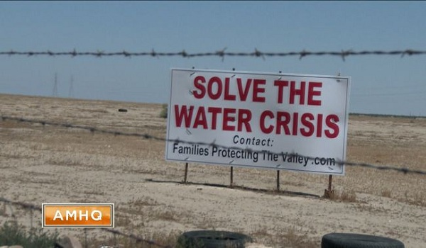 California Drought Threatens Food Supply of All Americans Collapsing Aquifer Sinking the Land