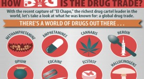 Cocaine, Heroin, Cannabis, Ecstasy: How Big is the Global Drug Trade?