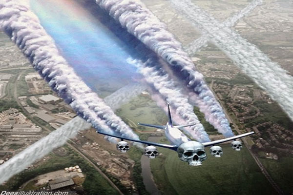 Does the Airline You Fly Spray Chemtrails