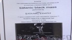 Harvard University Will Host 'Reenactment' of Satanic Mass