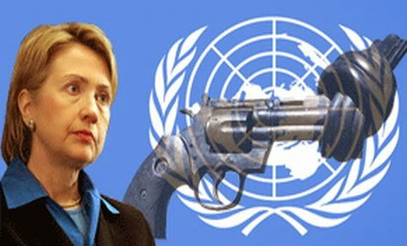 Hillary Clinton Calls To Reign In Gun Culture